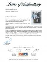 "Pete Townshend, Roger Daltrey & John Entwistle Signed ""The Who"" 10x12 Magazine Photo (PSA LOA) at PristineAuction.com"