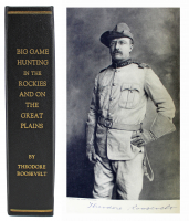 "Theodore Roosevelt Signed ""Big Game Hunting"" Hardcover Book (Beckett LOA) (See Description) at PristineAuction.com"