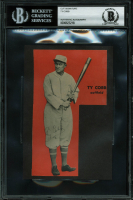 Ty Cobb Signed 3.25x6 Cut (BGS Encapsulated) at PristineAuction.com