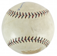 Ty Cobb Signed OAL Baseball (Beckett LOA) (See Description) at PristineAuction.com