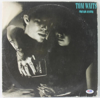 "Tom Waits Signed ""Foreign Affairs"" Vinyl Record Album (PSA COA) at PristineAuction.com"