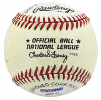 MLB Triple Crown Winners ONL Baseball Signed by (5) with Mickey Mantle, Miguel Cabrera, Ted Williams, Frank Robinson & Carl Yastrzemski (Beckett LOA & PSA LOA) at PristineAuction.com