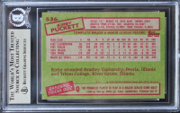 Kirby Puckett Signed 1985 Topps #536 RC (BGS Encapsulated) at PristineAuction.com