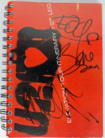 """U2"" Tour Book Band-Signed by (3) with Bono, The Edge & Adam Clayton (PSA LOA) at PristineAuction.com"