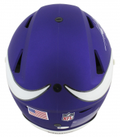 """Adrian Peterson Signed Vikings Full-Size Authentic On-Field Matte Purple SpeedFlex Helmet Inscribed """"2012 MVP"""", """"ALL DAY"""" & """"ROY 2007"""" (Beckett COA) at PristineAuction.com"""