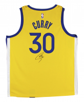 Stephen Curry Signed Warriors Jersey (Fanatics Hologram) at PristineAuction.com