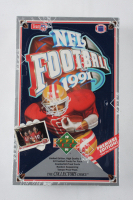 1991 Upper Deck NFL Football Box with (36) Packs at PristineAuction.com