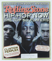 Wyclef Jean & Jay Z Signed 1998 Rolling Stone Magazine Cover (Beckett LOA) at PristineAuction.com