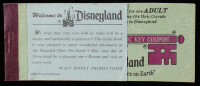 Disneyland Vintage Ticket Booklet with (7) Tickets at PristineAuction.com