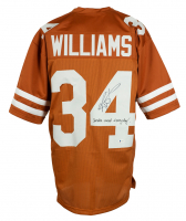 """Ricky WIllimas Signed Jersey Inscribed """"Smoke Weed Everyday!"""" (Beckett COA) at PristineAuction.com"""