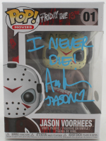 "Ari Lehman Signed ""Friday the 13th"" #1 Jason Voorhees Funko Pop! Vinyl Figure Inscribed ""I Never Die!"" & ""Jason 1"" (Beckett COA) at PristineAuction.com"