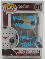 "Ari Lehman Signed ""Friday the 13th"" #1 Jason Voorhees Funko Pop! Vinyl Figure Inscribed ""Kill For Mommy!"" & ""Jason 1"" (Beckett COA) at PristineAuction.com"