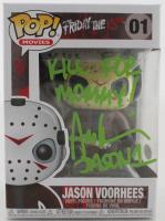 "Ari Lehman Signed ""Friday the 13th"" #1 Jason Voorhees Funko Pop! Vinyl Figure Inscribed ""Kill For Mommy!"" & ""Jason 1"" (Beckett COA) at PristineAuction.com"