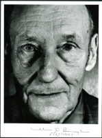 "William S. Burroughs Signed 7x9.5 Photo Inscribed ""5/23/1997"" (PSA LOA) at PristineAuction.com"