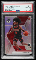 Coby White 2019-20 Panini Mosaic Silver #211 (PSA 10) at PristineAuction.com
