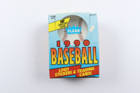 1990 Fleer Baseball Wax Box with (36) Packs (See Description) at PristineAuction.com