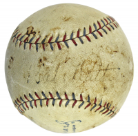 Babe Ruth Signed OAL Baseball (PSA LOA & JSA LOA) (See Description) at PristineAuction.com