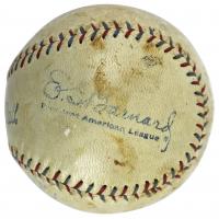 Babe Ruth Signed OAL Baseball (PSA LOA & JSA LOA) (See Description) at PristineAuction.com