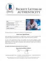 Derek Jeter Signed Yankees 24x36 Poster (Beckett LOA) (See Description) at PristineAuction.com