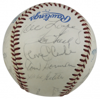 """Yankees' Greats"" OAL Baseball Signed by (22) with Roger Maris, Joe DiMaggio, Lefty Gomez, Joe Sewell (JSA LOA) at PristineAuction.com"