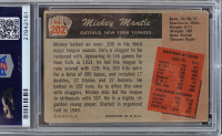 """Mickey Mantle Signed 1955 Bowman #202 Inscribed """"No. 7"""" (PSA Encapsulated) at PristineAuction.com"""