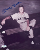 Mickey Mantle Signed Yankees 8x10 Photo (PSA LOA) at PristineAuction.com