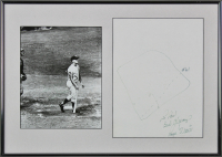 Roger Maris Signed 13x19 Custom Matted Photo Display With Inscription (PSA LOA) at PristineAuction.com
