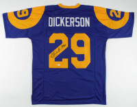 "Eric Dickerson Signed Jersey Inscribed ""HOF 99"" (Beckett Hologram) at PristineAuction.com"
