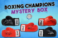 Schwartz Sports Boxing Champions Signed Boxing Glove Mystery Box - Champions Edition - Series 2 (Limited to 75) at PristineAuction.com