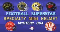 Schwartz Sports Football Superstar Signed SPECIALTY Mini Helmet Mystery Box - Series 10 (Limited to 150) at PristineAuction.com