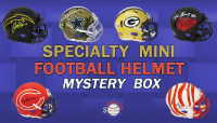 'Schwartz Sports Football Player Signed SPECIALTY Mini Helmet Mystery Box - Series 10 (Limited to 150) at PristineAuction.com