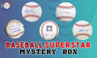 Schwartz Sports Baseball Star Signed Baseball Mystery Box - Series 7 (Limited to 100) at PristineAuction.com
