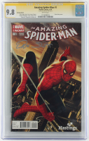 "Dan Slott Signed 2014 ""The Amazing Spider-Man"" Issue #001 Marvel Comic Book (CGC Encapsulated - 9.8) at PristineAuction.com"