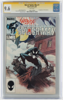 "Stan Lee Signed 1984 ""Web of Spider-Man"" Issue #1 Marvel Comic Book (CGC Encapsulated - 9.6) at PristineAuction.com"