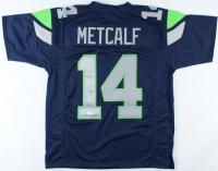 D. K. Metcalf Signed Jersey (JSA Hologram) (See Description) at PristineAuction.com