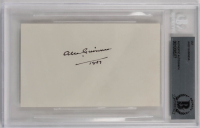 Alec Guinness Signed 3x5 Cut (BGS Encapsulated) at PristineAuction.com