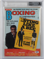 Muhammad Ali Signed Boxing Illustrated Magazine (BGS Encapsulated) at PristineAuction.com