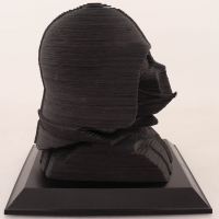 """David Prowse Signed """"Star Wars"""" Darth Vader 3D-Printed Statue Bust Inscribed """"Is Darth Vader"""" (Beckett COA) at PristineAuction.com"""