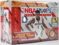 2019-20 Panini NBA Hoops Premium Stock Basketball Mega Box with (8) Packs at PristineAuction.com