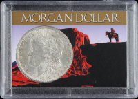 1888-O Morgan Silver Dollar With Display Case at PristineAuction.com