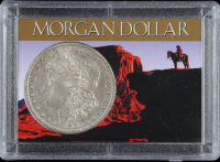 1880-O Morgan Silver Dollar With Display Case at PristineAuction.com
