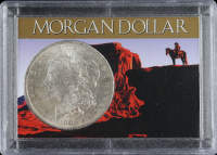 1883-O Morgan Silver Dollar With Display Case at PristineAuction.com