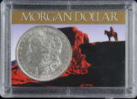 1884-O Morgan Silver Dollar With Display Case at PristineAuction.com