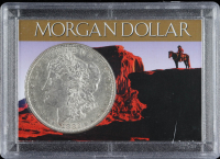 1882 Morgan Silver Dollar With Display Case at PristineAuction.com