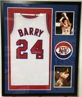 Rick Barry Signed 34x42 Custom Framed Jersey (JSA COA) at PristineAuction.com