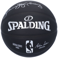 Julius Erving Signed NBA Arena Series Basketball (Fanatics Hologram) at PristineAuction.com