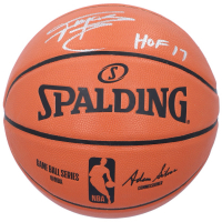 "Tracy McGrady Signed NBA Game Ball Series Basketball Inscribed ""HOF 17"" (Fanatics Hologram) at PristineAuction.com"