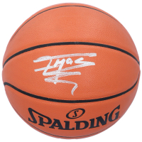 Tracy McGrady Signed Spalding Basketball (Fanatics Hologram) at PristineAuction.com