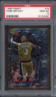 Kobe Bryant 1996-97 Finest #74 RC (PSA 10) at PristineAuction.com