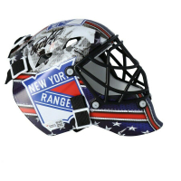 Igor Shestyorkin Signed Rangers Mini Goalie Mask (Fanatics Hologram) at PristineAuction.com